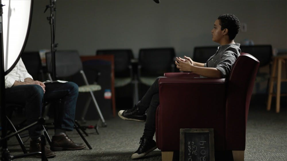 <p>The Counseling Center at NC State made a StopTheStigma video featuring students discussing their suicide attempts; the video won an Emmy. Photo courtesy of Bryce McNabb.&nbsp;</p>