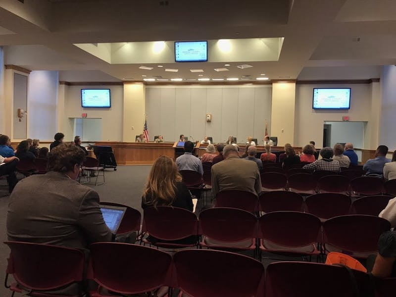 The Orange County Board of Commissioners met Tuesday, Sept. 5, 2017.