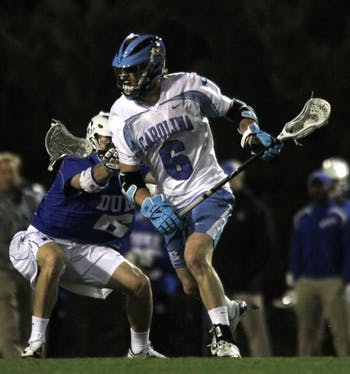 UNC Men's Lacrosse lost to Duke 11-8 on Wednesday night's ACC Tournament opener at Fetzer Field.