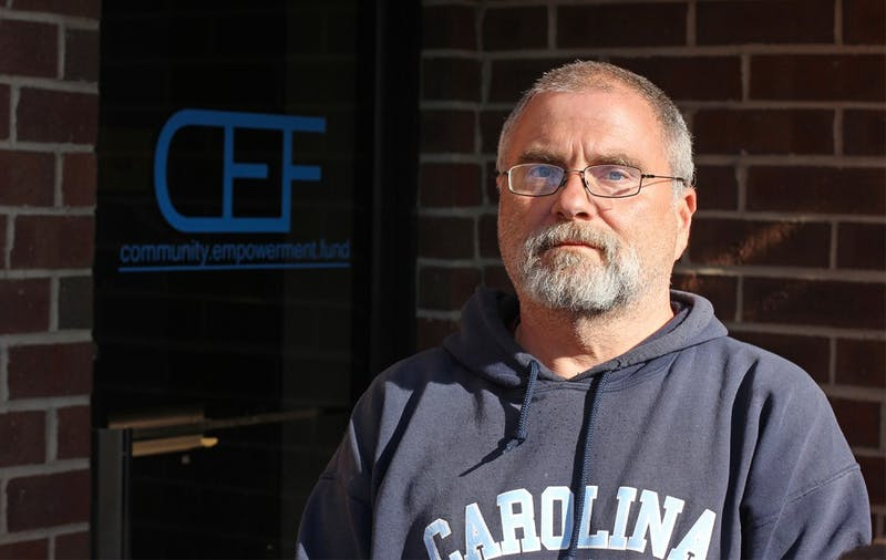 Steven Howser is homeless and is helping to coordinate a fundraiser to raise money for other homeless in Chapel Hill.