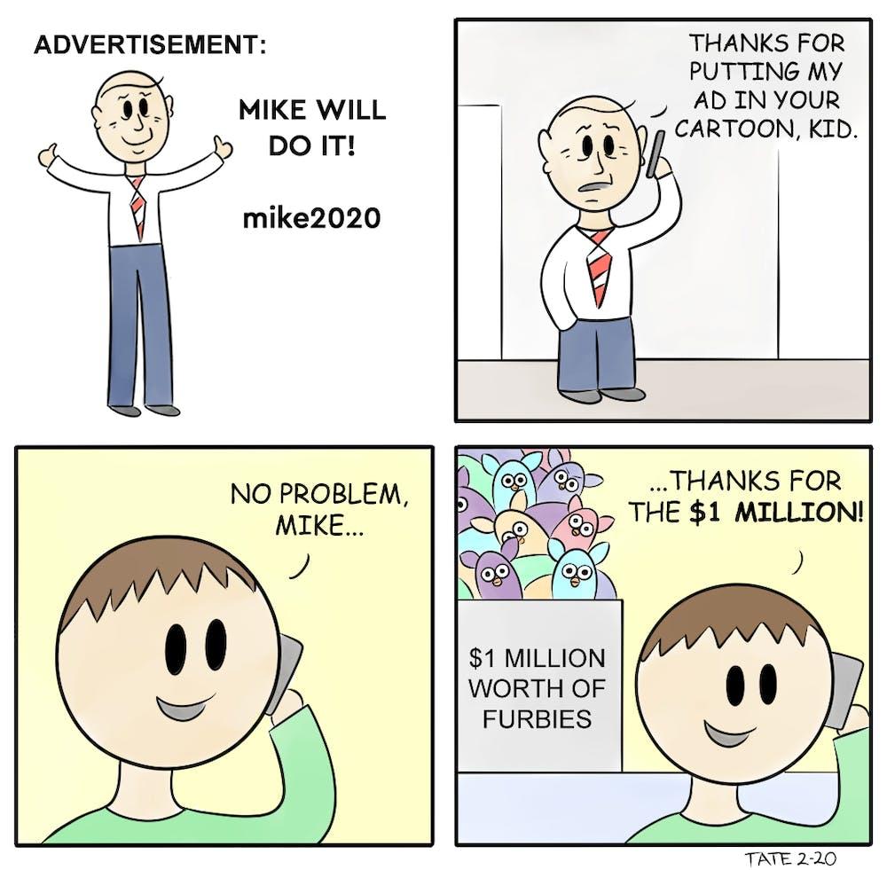 Cartoon: Bloomberg Ads