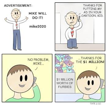 Cartoon: Mike Ad