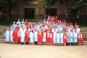 The 2017 class of BME graduates. Photo courtesy of Sandy Henriquez.