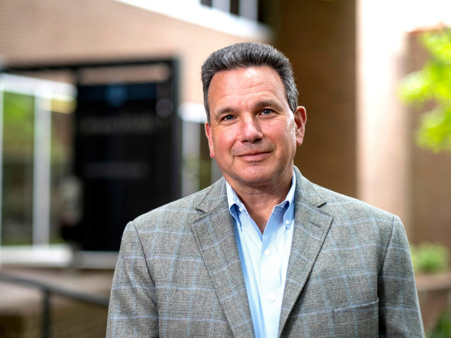 Dr. Mario Ciocca, UNC's director of sports medicine, was named a recipient of the C. Knox Massey Distinguished Service Awards, which recognizes outstanding UNC employees each year. Photo courtesy of Jon Gardiner/UNC-Chapel Hill.
