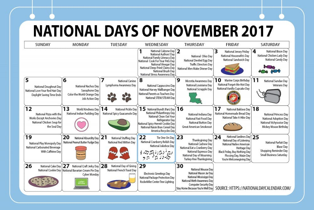 Looking to celebrate? There's a national day for that