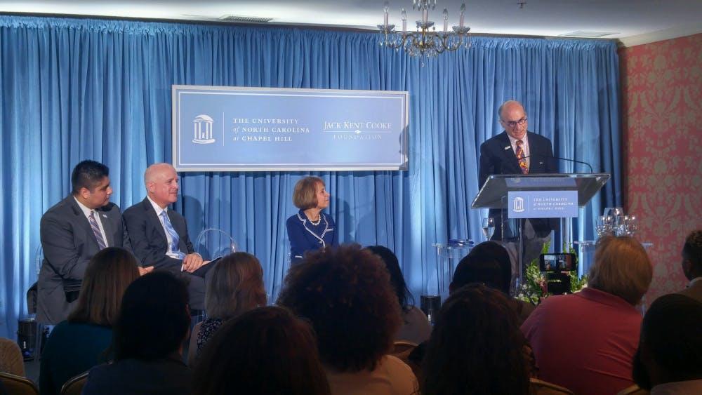 UNC receives million dollar prize