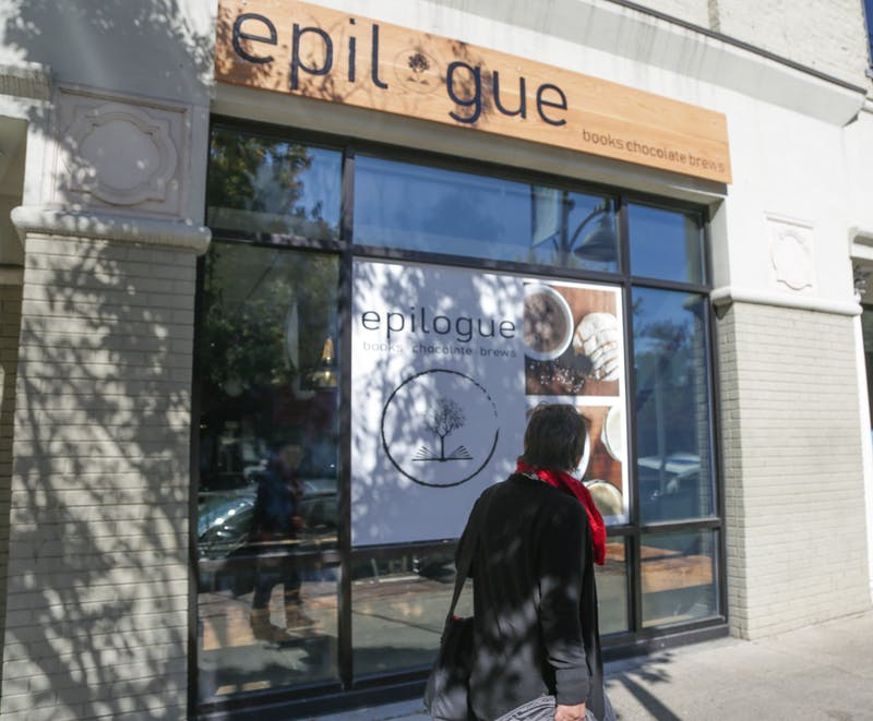 Epilogue coffee shop on Franklin Street opened for the first time on Friday, Nov. 11, 2019.