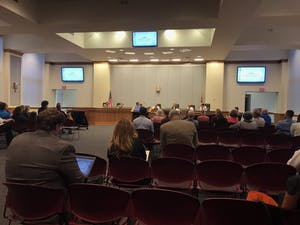 The Orange County Board of Commissioners met Tuesday night.