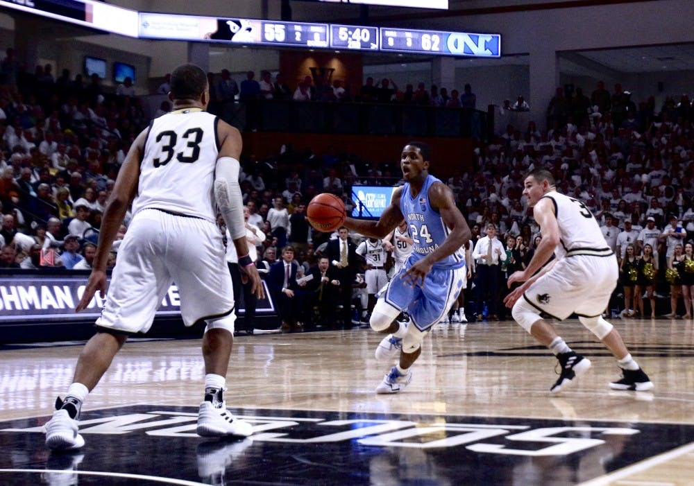 Three takeaways from UNC's 78-67 season-opening win over Wofford