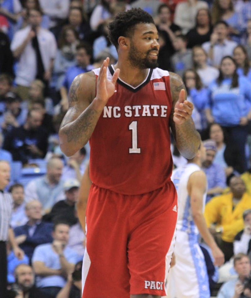The UNC men's basketball team lost to NC State 58-46 at the Dean Smith Center in Chapel Hill, N.C. on Feb. 24. The Tar Heels' 46 points are the least the Tar Heels have ever score din the Smith Center.