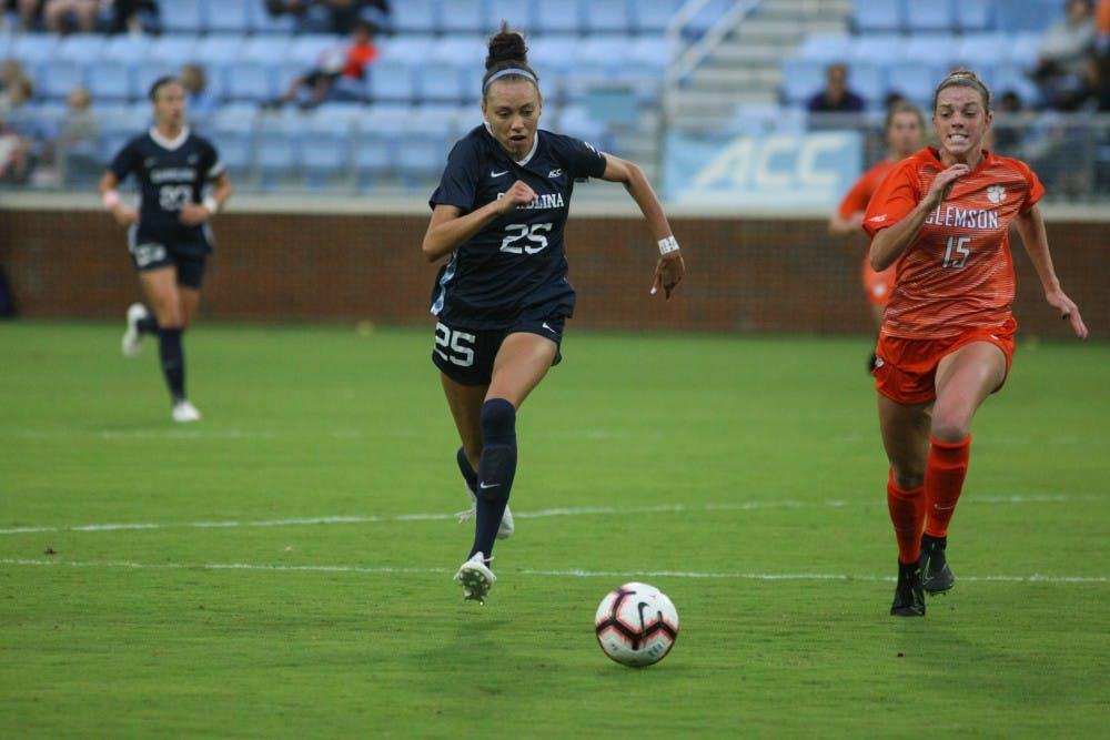 Bell, Dorrance headline ACC accolades for UNC women's soccer