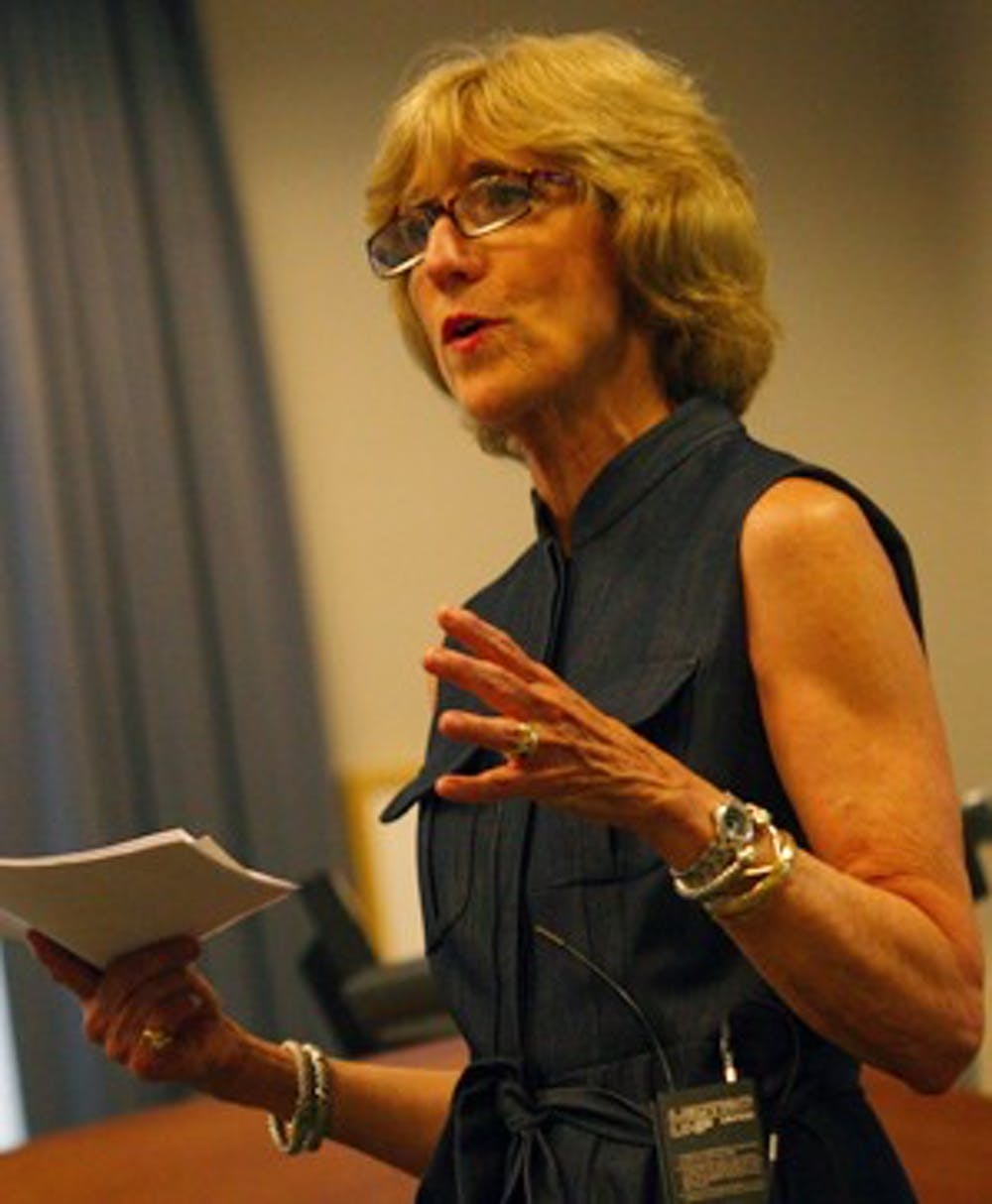 Susan King offers professional experience in the search for new School of Journalism dean