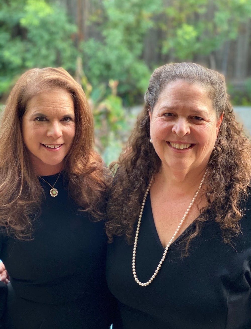 <p>Randi Emerson (left) and Carol Marshall (right), the founders of FIlmFest 919, a film festival based in Chapel Hill, North Carolina.&nbsp;Photo courtesy of Emerson and Marshall.</p>