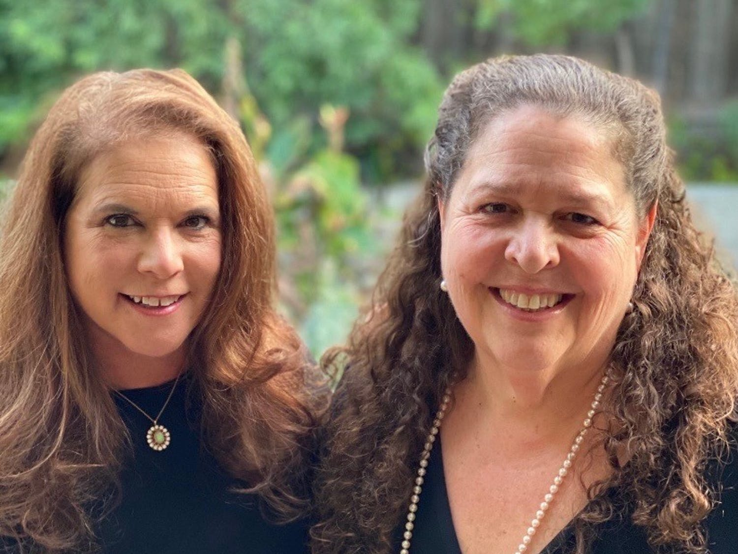 Randi Emerson (left) and Carol Marshall (right), the founders of FIlmFest 919, a film festival based in Chapel Hill, North Carolina. Photo courtesy of Emerson and Marshall.