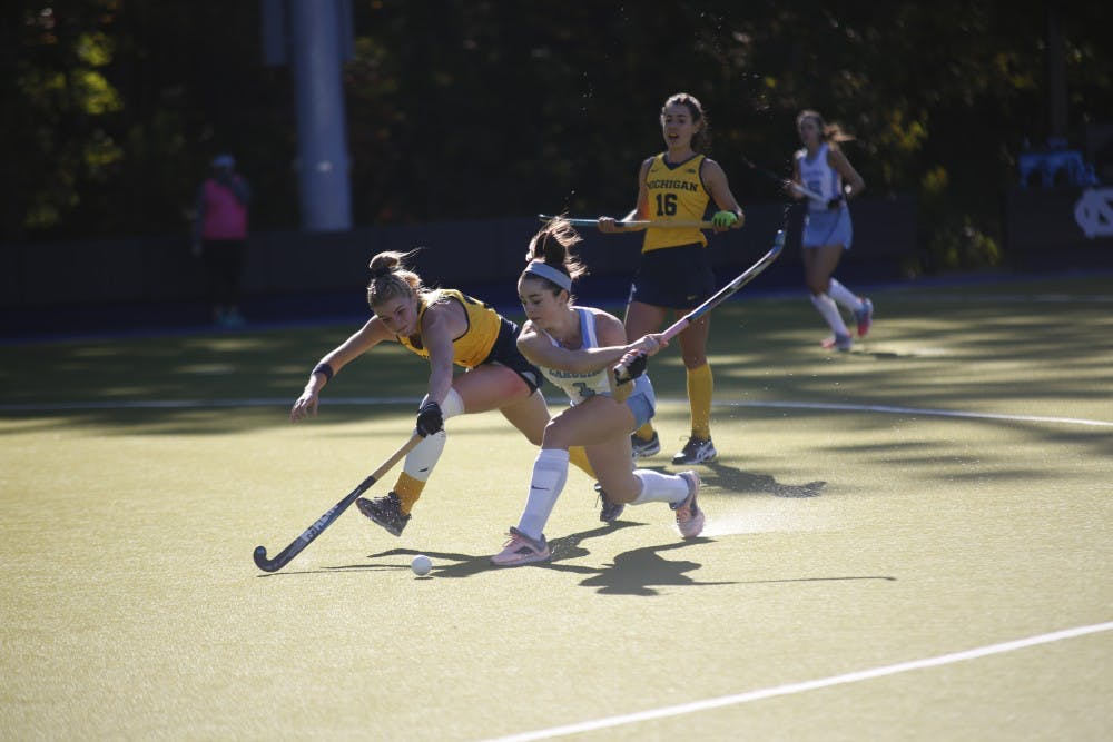 UNC field hockey rallies to defeat Iowa, 2-1, in high profile matchup