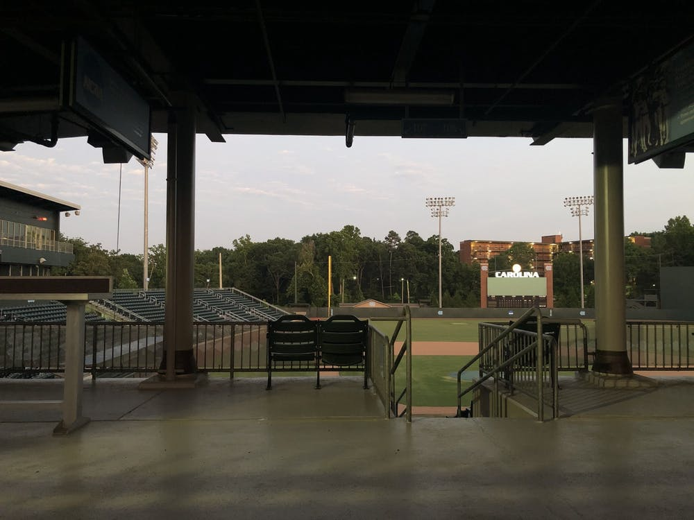 An empty Boshamer Stadium as pictured on Tuesday, June 2, 2020.