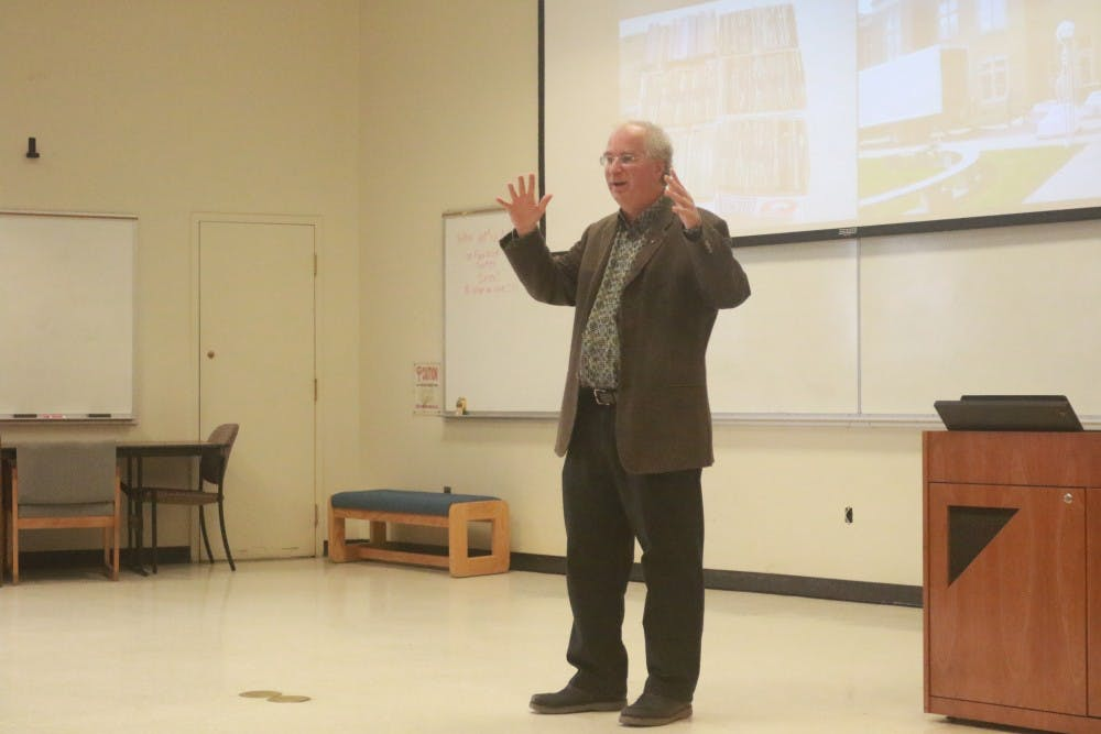 Founder of the Internet Archive addresses UNC School of Information and Library Science