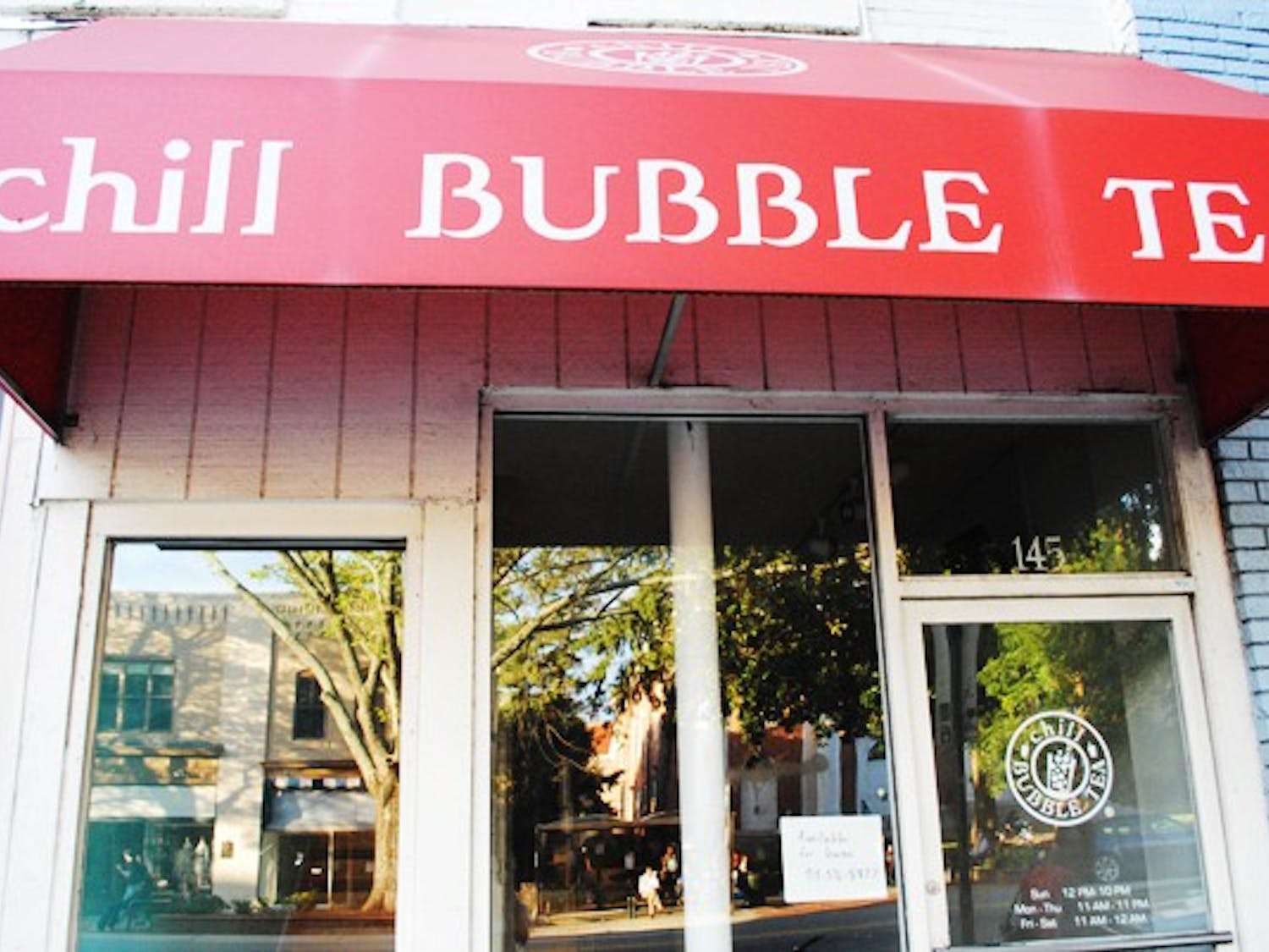 Chill Bubble Tea, Penang and Crepes Veronique are among the recently closed businesses on Franklin Street. There has been a high rate of turnover on Franklin, which sees the most revenue during the school year.