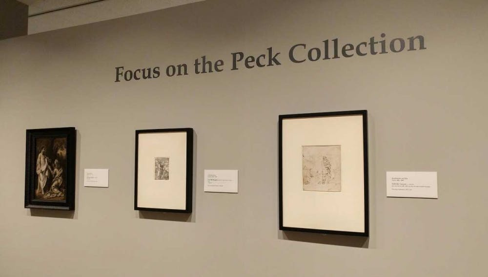<p>Focus on the Peck Collection will be on view at the Ackland Art Museum until Oct. 8. Photo courtesy of Emily Bowles.</p>