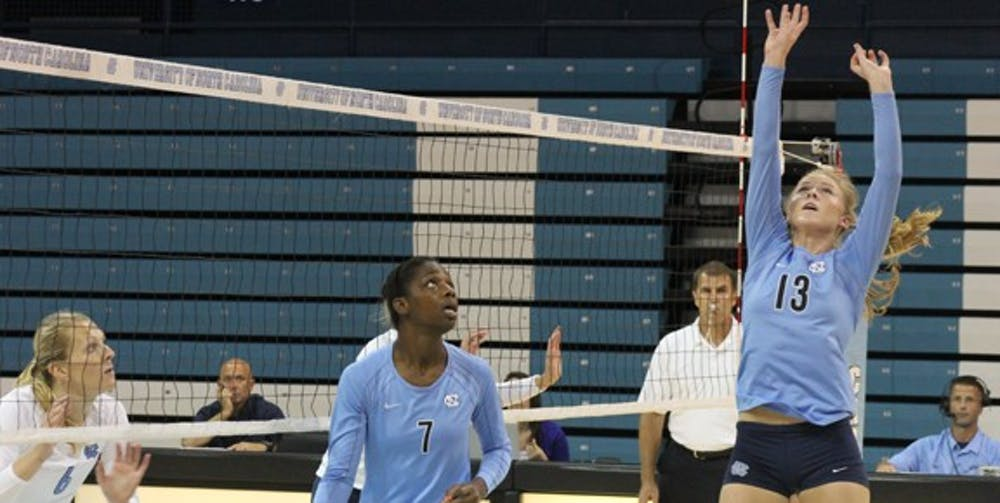 UNC women's volleyball team has talented freshmen