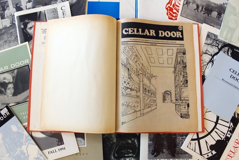 Cellar Door has been publishing student writers', poets', and artists' work since 1973. Each semester they publish a 45-to-50 page issue with a launch party.