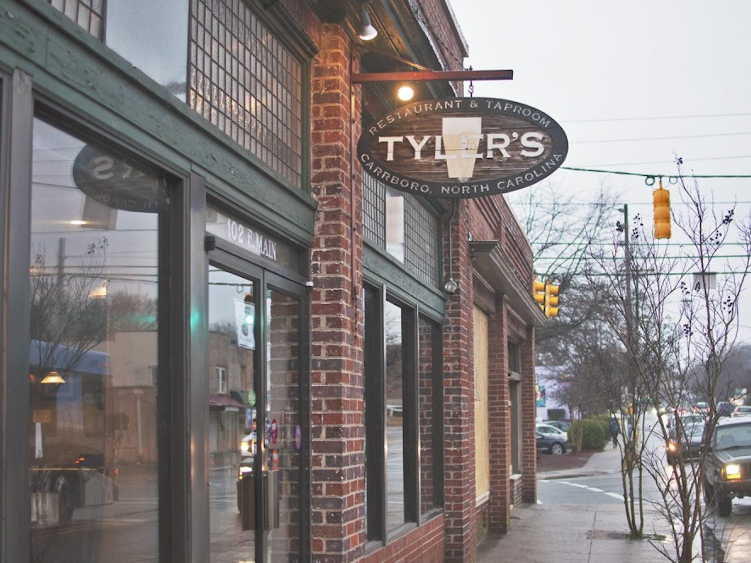 Tyler's Taproom on Main St. in Carrboro is undergoing renovations to expand its bar and bottle shop. The speakeasy's renovations will be done by the end of February and other renovations will be finished by the summer.