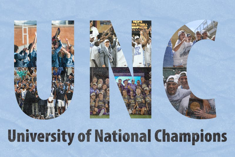 A brief history of UNC's storied athletic programs and their national titles