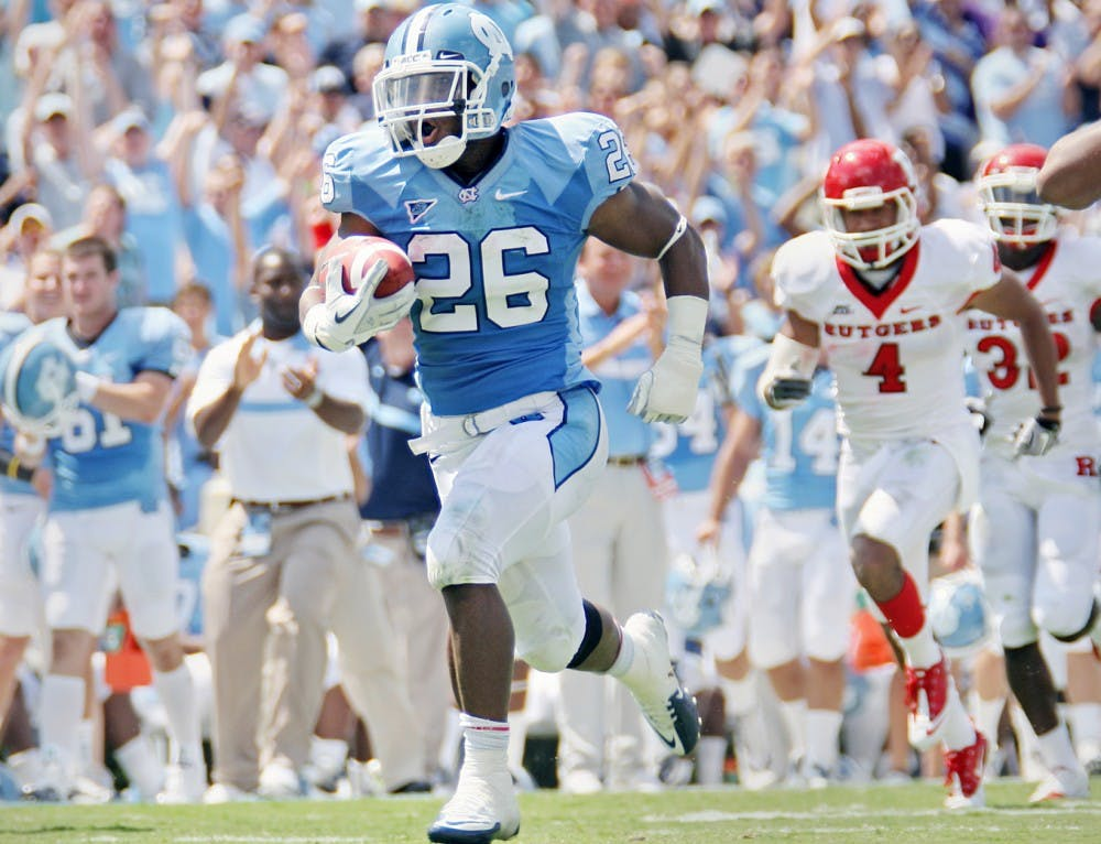 Tar Heels escape with a win against Rutgers