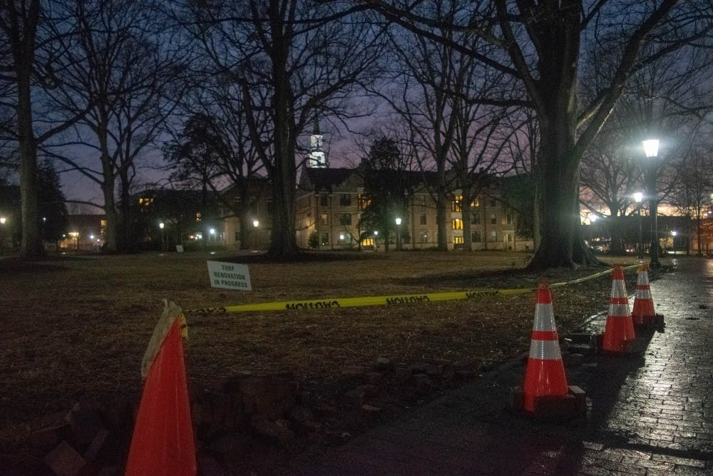 Trespass notices were dropped for seven anti-Silent Sam demonstrators