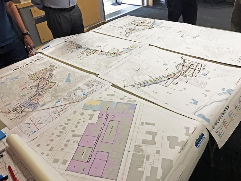 Community members helped map Chapel Hill's future through 2049.