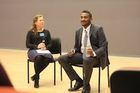 Mohamed Abubakr, a civil and human rights activist from Sudan, discusses his life experiences that led to his service in the nonprofit sector and refugee challenges throughout Africa.