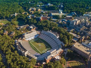 Kenan Memorial Stadium is named after William Rand Kenan Sr., the commander of a white supremacist unit that murdered at least 25 Black people in the Wilmington Massacre of 1898.