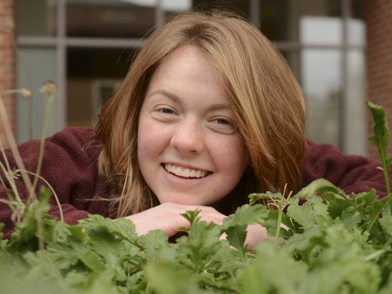 Lauren Zitney had a poem written for her about kale.