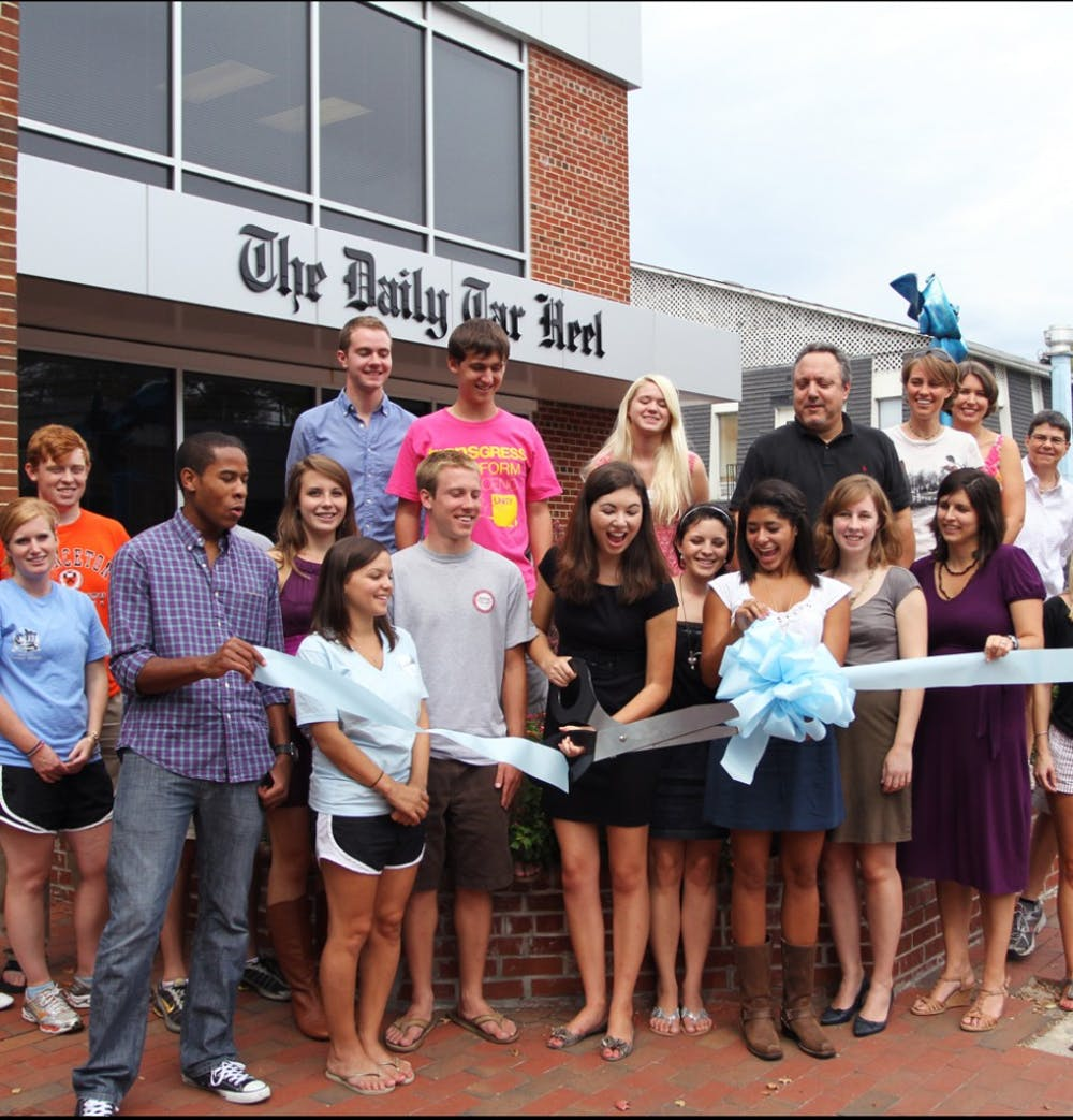 The Daily Tar Heel celebrates move to a new off-campus home