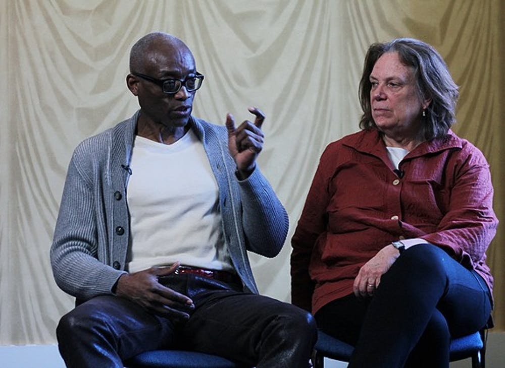 Bill T. Jones and Anne Bogart are interviewed with questions related to the history and influences of Stravinsky's Rite of Spring. They were also asked about their personal decisions with the work, and how they felt about the work.