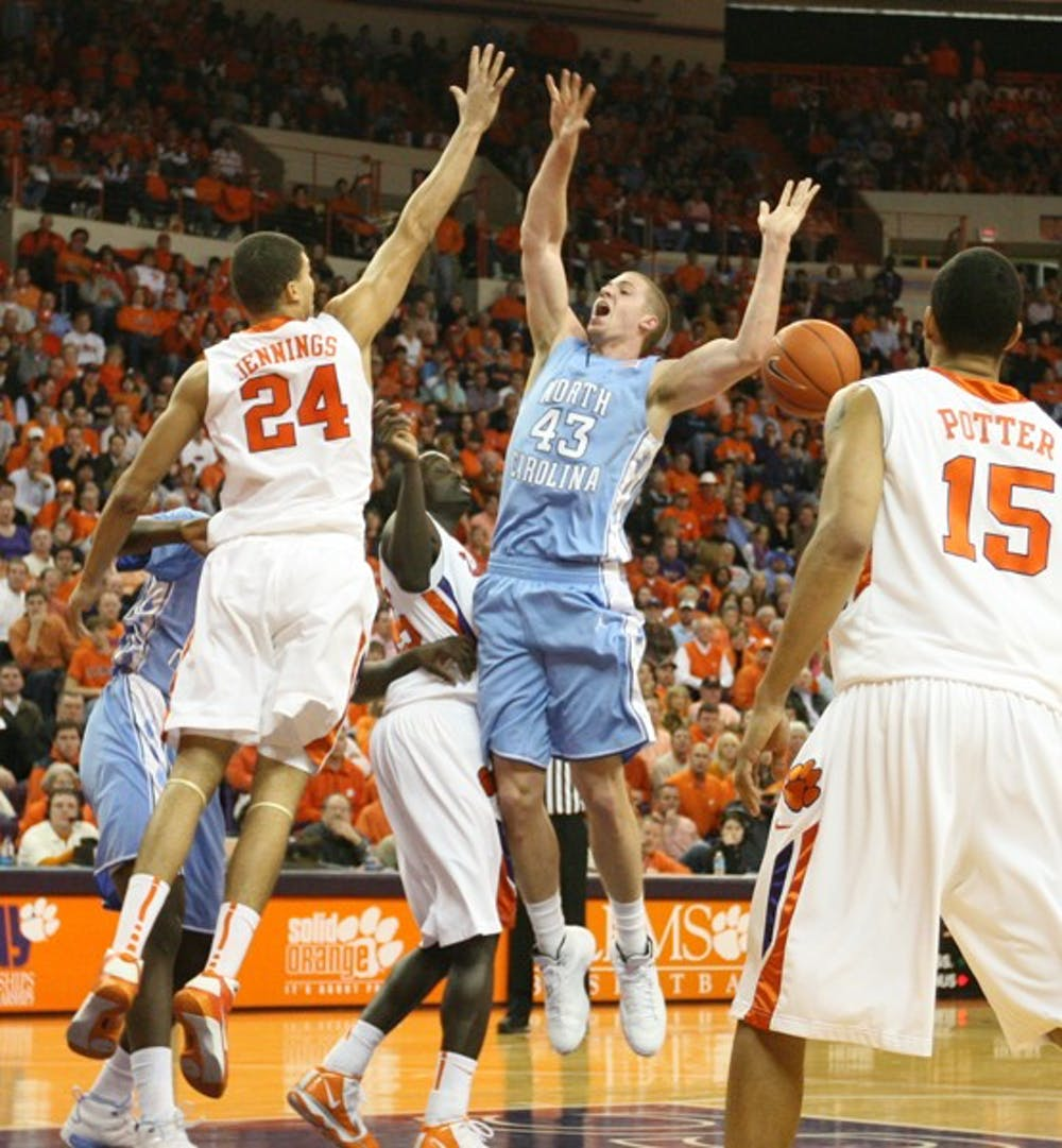 Freshman Travis Wear stepped into Davis' role last week against Wake Forest in his first career start. DTH/Phong Dinh