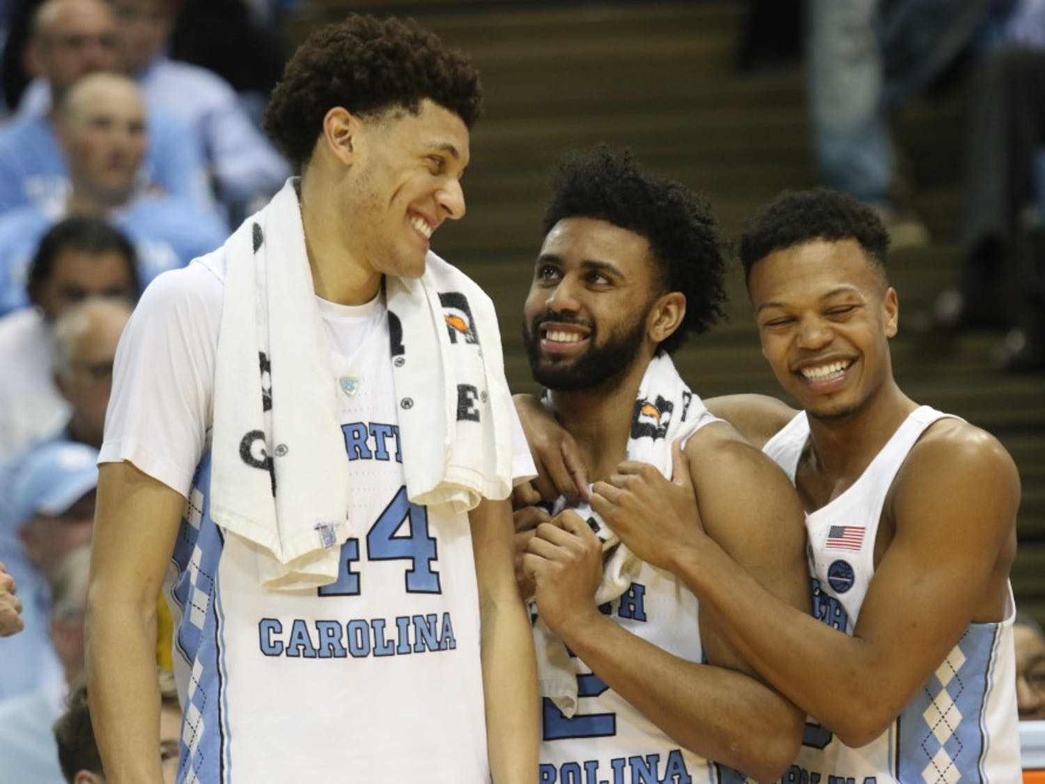 The Tar Heels defeated the Blue Devils on Saturday night and ended the season withthe ACC title outright for the second year in a row.