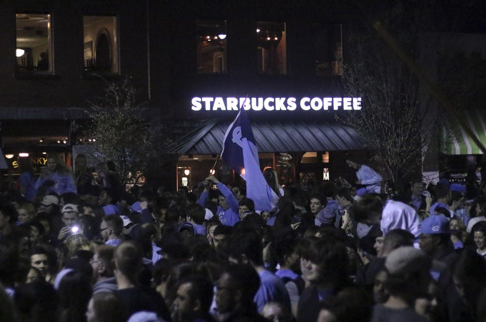 UNC's win over Duke brings business to Franklin Street bars