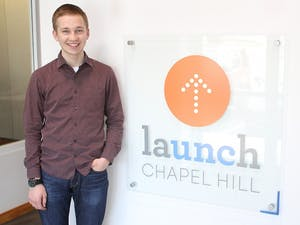 Brent Comstock, a sophomore business and religious studies major from Nebraska, started a business through LaUNCh.
