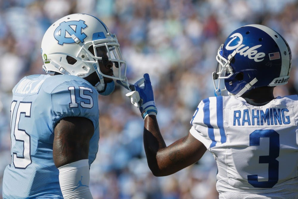 Reliance on big plays hurts UNC in 27-17 loss to Duke