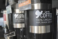 Larry's Coffee, which is 100% organic, is now served in Lenoir Dining Hall.