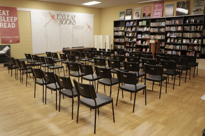 """The venue where Flyleaf Books is holding a virtual discussion with the authors of """"From Here to Equality."""" Photo courtesy of Talia Smart."""