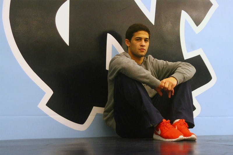 Joey Ward is a redshirt sophomore wrestler. He qualified for the NCAA Championships in 2013.