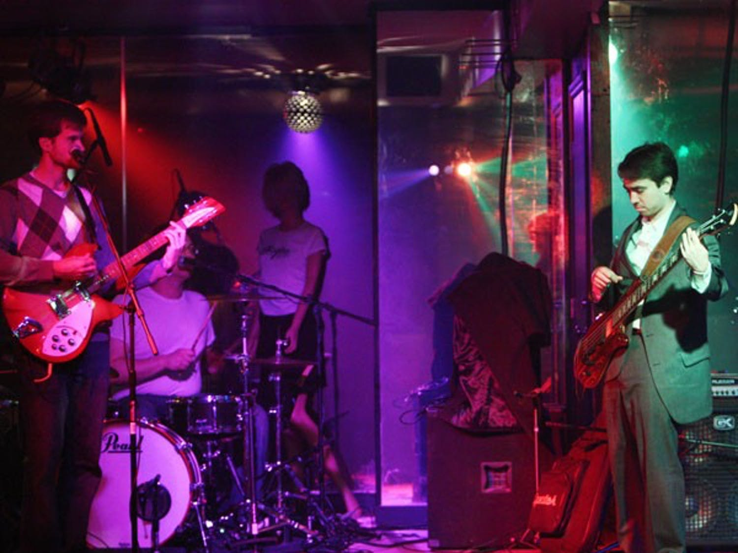 """The UNC Dance Marathon hosted a """"Battle of the Bands"""" Friday night at Players. DTH/Gladys Manzur"""