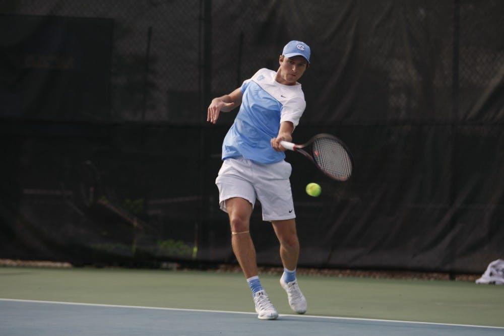 No. 11 UNC men's tennis defeats No. 20 Oklahoma, 4-1, on Friday