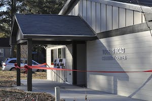The Rogers Road Community Center opened Saturday morning. The center will be an educational space for the community.
