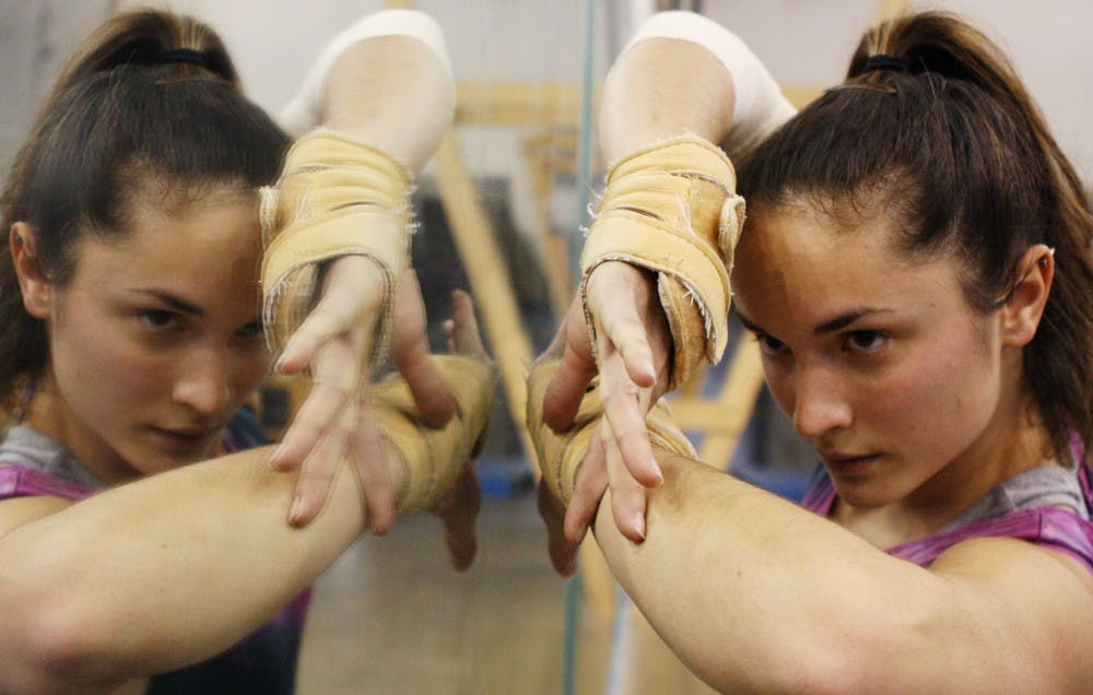 Gymnast has a passion to perform