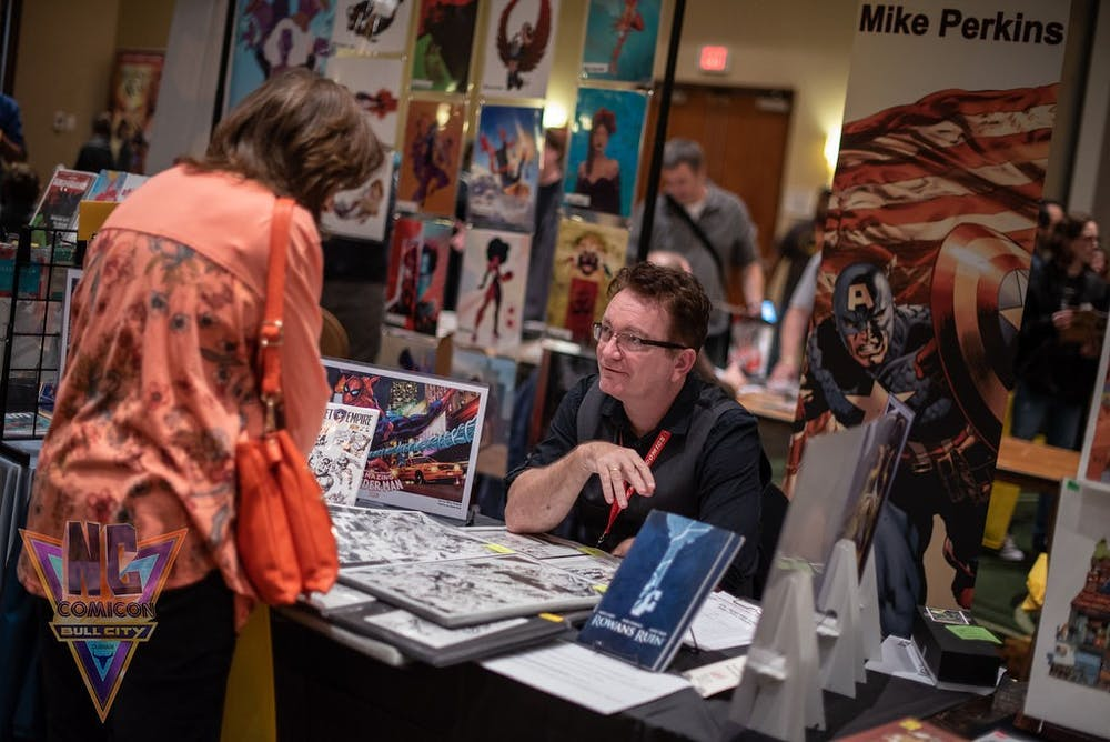 N.C. Comicon celebrates pop culture and arts education
