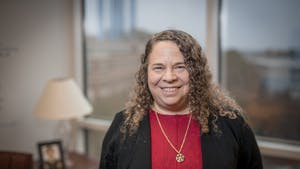 Dr. Gwenn Garden, professor and chair of the Department of Neurology at the UNC School of Medicine, is the co-director of the Duke-UNC Alzheimer's Disease Research Center. Photo Courtesy of Dr. Gwenn Garden.