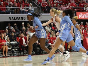 UNC's won 64-51 against NC State at Reynolds Coliseum on Sunday, Feb. 3, 2019 in Raleigh, NC. The Tar Heels Women's Basketball Team (14-9) handed the Wolfpack (21-1) their first loss of the season.